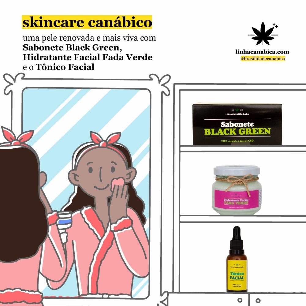 Cosméticos de cannabis para sua skincare